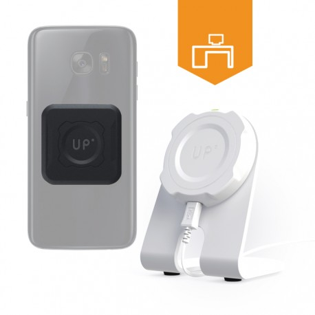 Station de charge sans-fil bureau - mobile Qi inclus - charge sans fil up' - store Exelium