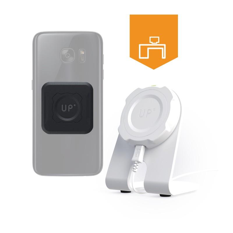 Desk Kit Qi Wireless Charging Magnetic Adaptor Upm5u02b