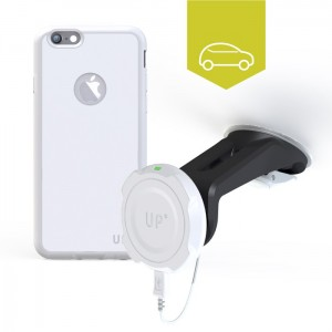 Chargeur sans-fil voiture pare-brise - iPhone 6 - charge sans fil up' - store Exelium