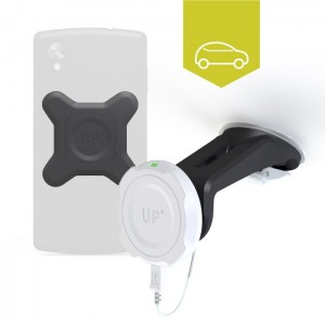 Qi enabled phones-  Car kit wireless charging
