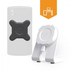 Chargeur sans-fil de bureau pour mobiles Qi