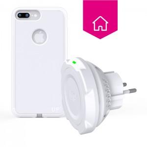 chargeur sans-fil prise secteur - iPhone 7 Plus - charge sans fil up' - store Exelium