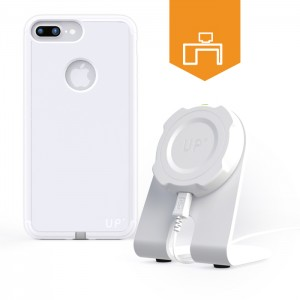 wireless charging desk stand - iPhone 7 Plus - Up' wireless charging - Exelium Store