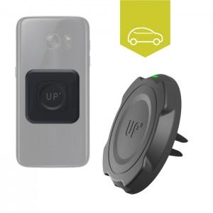 Chargeur sans fil voiture grille d'aération - Mobiles Qi inclus - charge sans fil up' - store Exelium