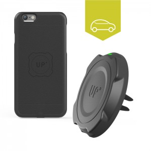 Chargeur induction voiture grille d'aération - Charge sans-fil iPhone 6/6S
