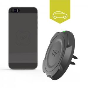 Chargeur sans-fil Voiture grille d'aération - iPhone 5/5S/SE