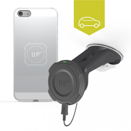 Chargeur sans-fil voiture pare-brise - iPhone 5/5S/SE - charge sans fil up' - store Exelium