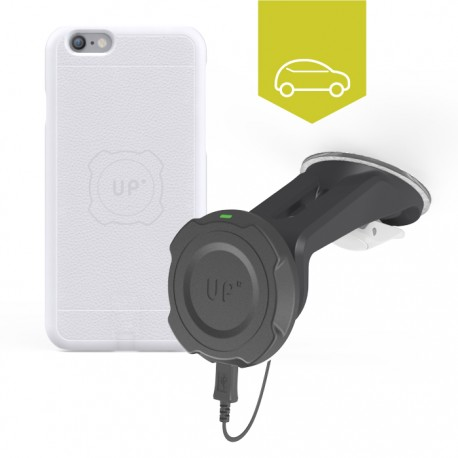 Chargeur sans-fil voiture pare-brise - iPhone 6/6S - charge sans fil up' - store Exelium