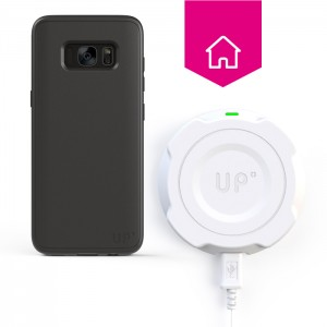 Chargeur sans-fil mural - Galaxy S8 Plus - charge sans fil up' - store Exelium