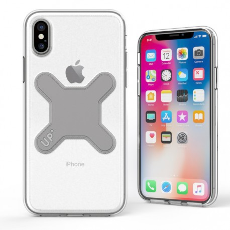 Coque crystal magnétique - iPhone X