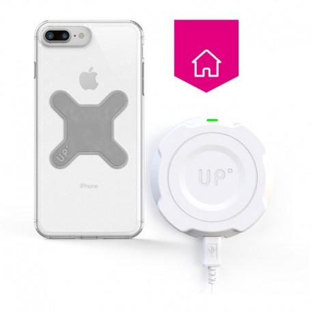 chargeur induction mural charge sans fil iphone 8 plus. Black Bedroom Furniture Sets. Home Design Ideas