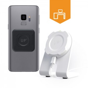 Station de charge sans-fil bureau - Galaxy S9 / S9 Plus - charge sans fil up' - store Exelium