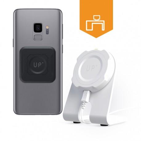 Station de charge sans-fil bureau - Galaxy S9 / S9 Plus - charge sans fil up' - store Exelium
