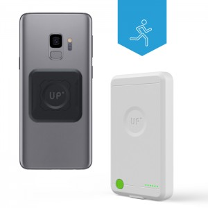 Batterie externe à induction - Charge sans-fil iPhone Galaxy S9/S9 Plus