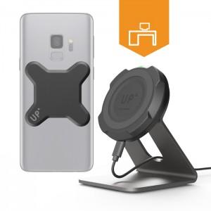 Station de charge rapide sans-fil bureau - mobile Qi inclus - charge sans fil up' - store Exelium