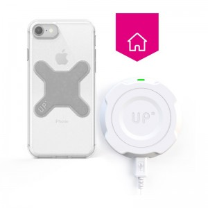 Wall wireless charger - iPhone SE (2020)- Up' wireless charging - Exelium Store