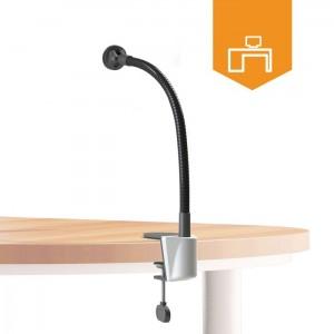 Desk flexible mount holder for tablets