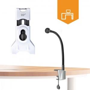 Desk flexible mount holder for 7'' to 12'' tablets