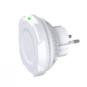 Chargeur sans-fil prise secteur  - charge sans fil up' - store Exelium