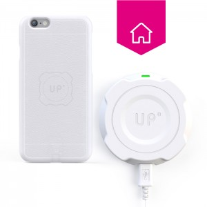 Chargeur sans-fil mural - iphone 6/6S Plus - charge sans fil up' - store Exelium