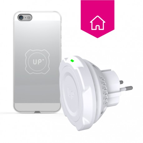 Wall socket wireless charger - iPhone 5/5S/SE - Up wireless charging