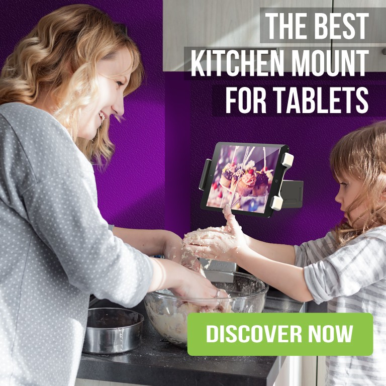 tablet mount for kitchen